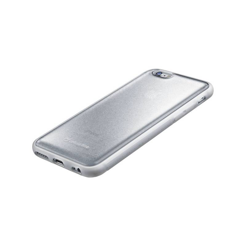 Kryt na mobil CellularLine SELFIE CASE pro Apple iPhone 6/6s (SELFIECIPH647S) strieborný