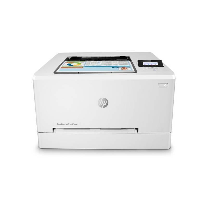 Tiskárna laserová HP LaserJet Pro M254nw (T6B59A#B19) bílá