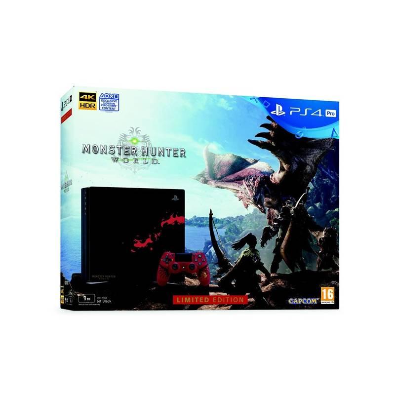 Herná konzola Sony PlayStation 4 Pro 1TB Monster Hunter: World - Limited Edition (PS719370970) + Doprava zadarmo