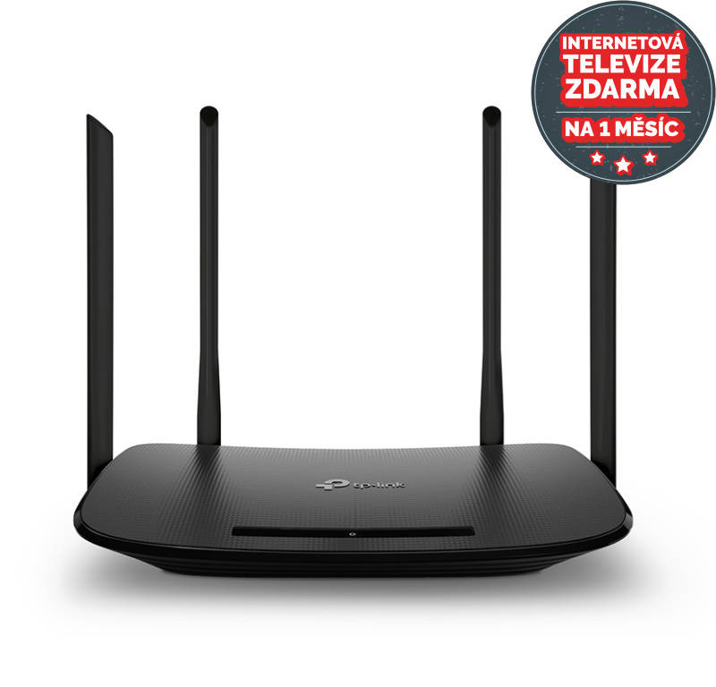Router TP-Link Archer VR300 + IP TV na 1 měsíc ZDARMA (Archer VR300) čierny