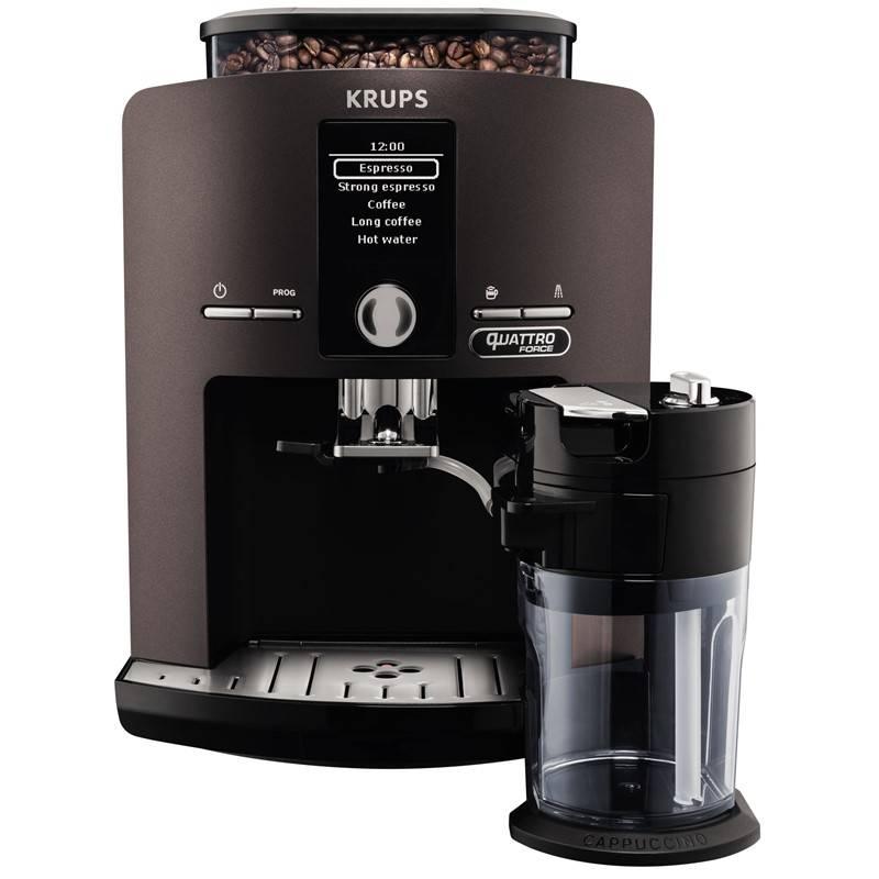 Espresso Krups EA829P10 sivé
