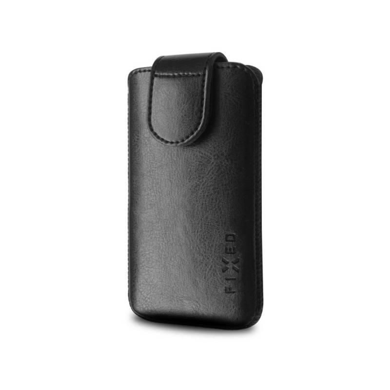 "Puzdro na mobil flipové FIXED Sarif 3XL (vhodné pro 5"") (RPSFM-001-3XL) čierne"