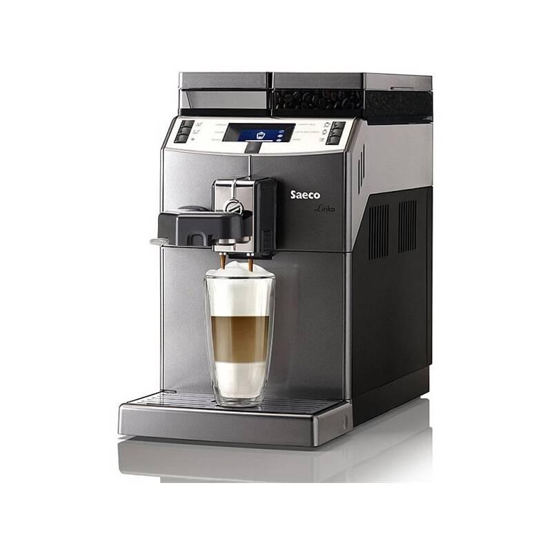 Espresso Saeco Lirika OTC strieborné