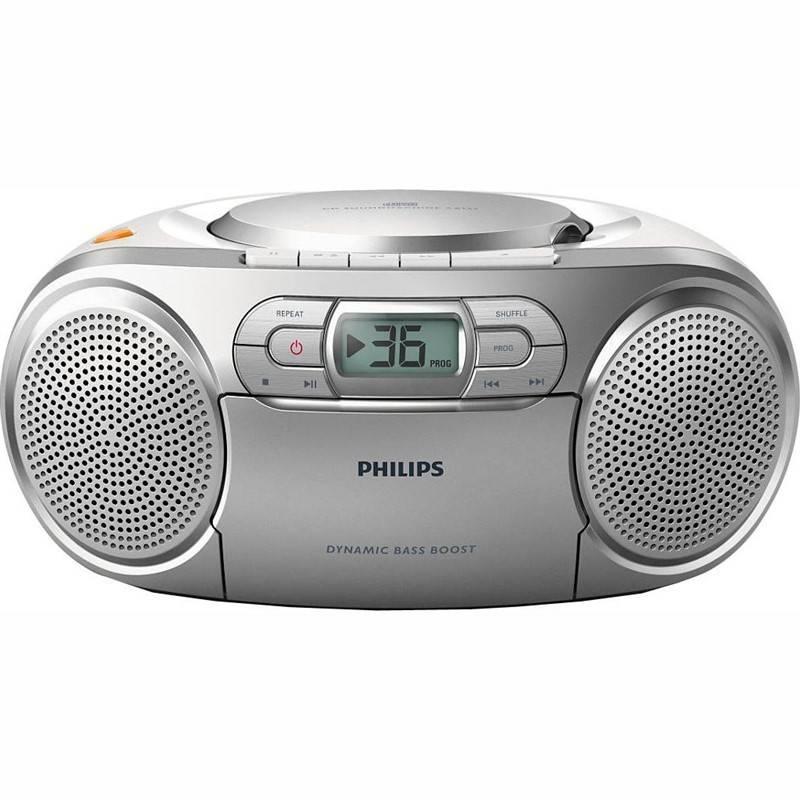 Rádiomagnetofón s CD Philips AZ127