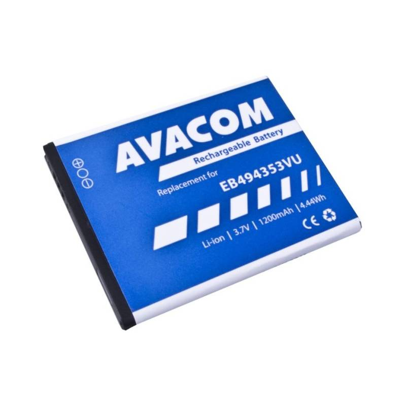 Batéria Avacom pro Samsung Galaxy Mini, Li-Ion 1200mAh (náhrada EB494353VU) (GSSA-5570-S1200A)