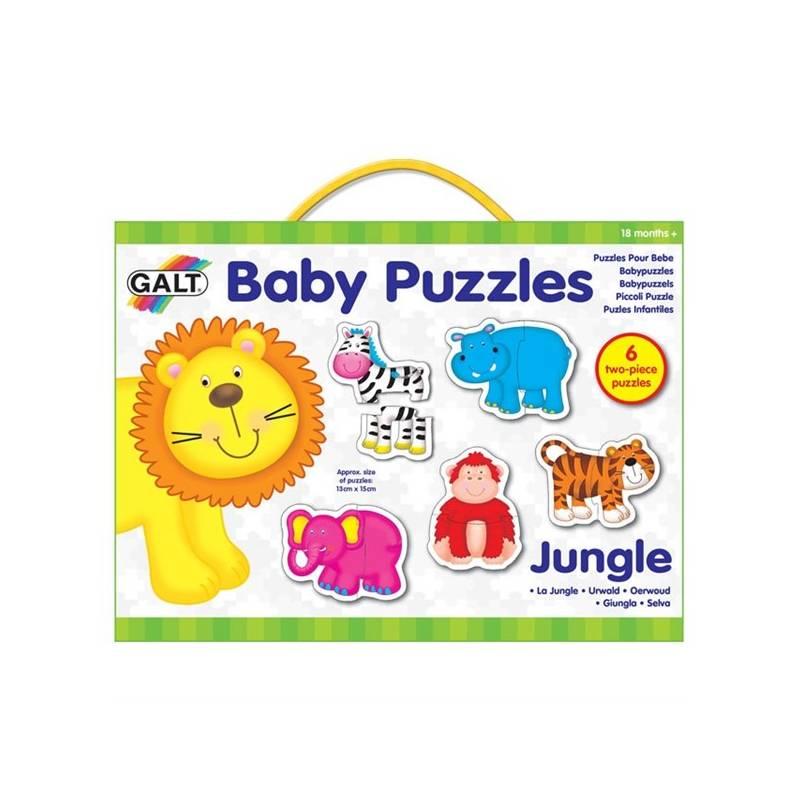 Puzzle pre najmenších GALT – zvířátka v džungli 2. + Doprava zadarmo