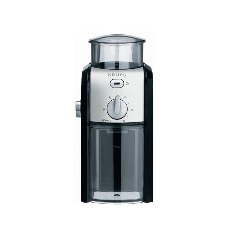Mlynček na kávu Krups GVX242 černý, nerez + Doprava zadarmo