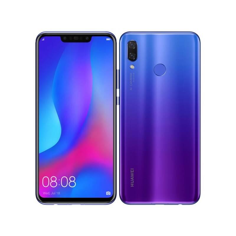 Huawei nova 3 (SP-NOVA3FOM) fialový Software F-Secure SAFE, 3 zařízení / 6 měsíců (zdarma)
