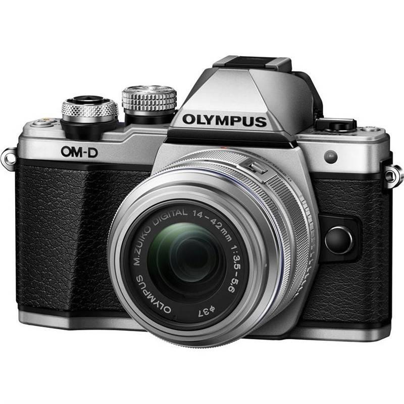 Digitálny fotoaparát Olympus E-M10 II + objektiv 14-42mm II strieborný + Doprava zadarmo