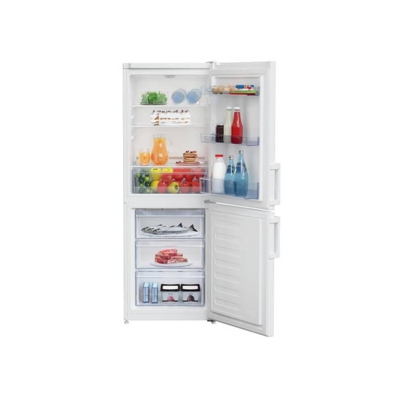 Kombinácia chladničky s mrazničkou Beko CSA 240 M21W biela