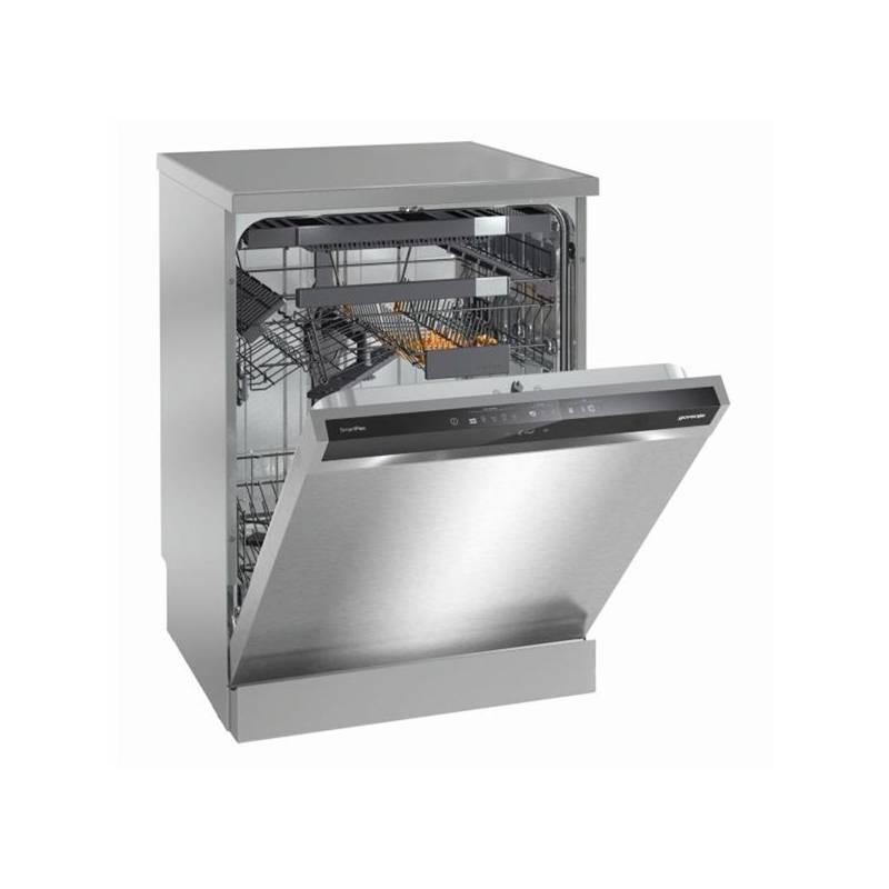 Umývačka riadu Gorenje GS66260X strieborná Kapsle do myčky Jar Platinum 26ks + Doprava zadarmo