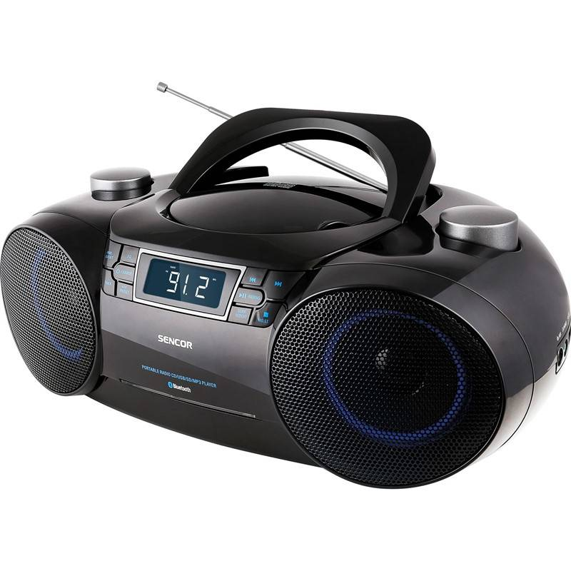 Radiopřijímač s CD Sencor SPT 4700 černý