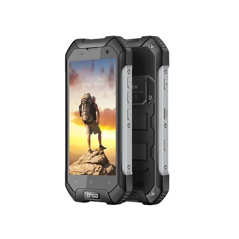Mobilný telefón iGET BLACKVIEW BV6000 (84000136) čierny Software F-Secure SAFE 6 měsíců pro 3 zařízení (zdarma) + Doprava zadarmo