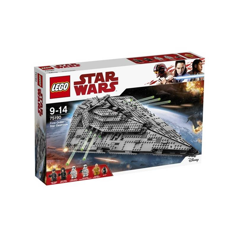 Stavebnica LEGO® STAR WARS TM 75190 Hvězdný destruktor Prvního řádu