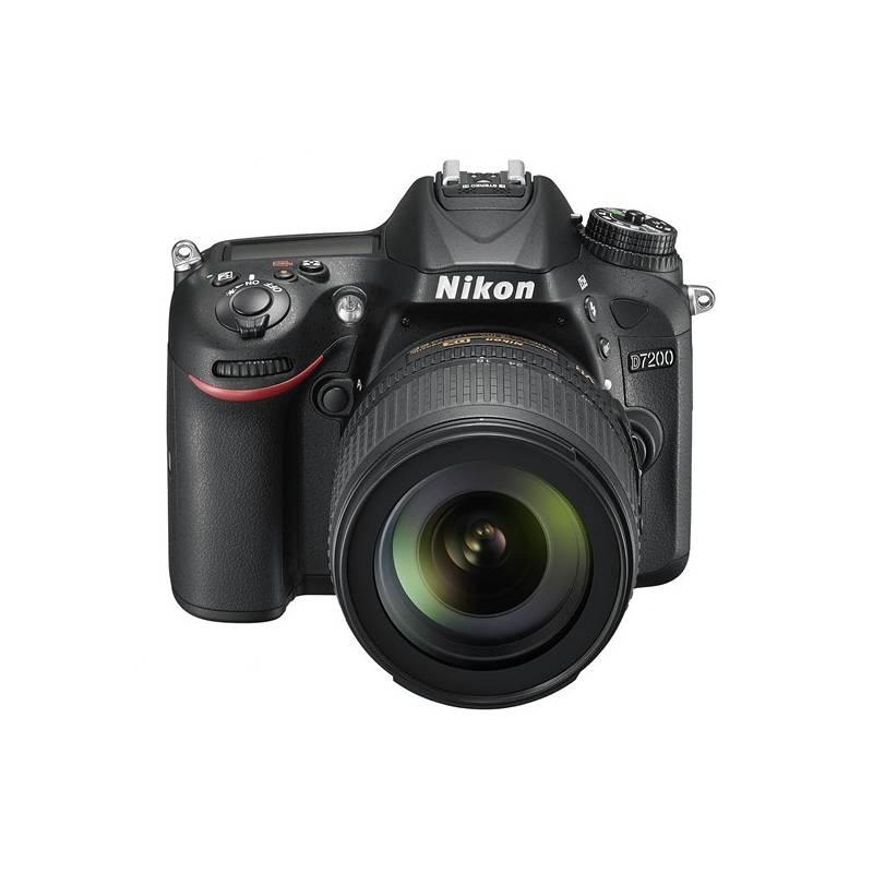 Digitálny fotoaparát Nikon D7200 + 18-105 AF-S DX VR čierny