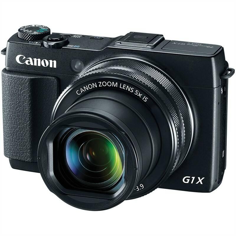 Digitální fotoaparát Canon PowerShot G1 X Mark II černý