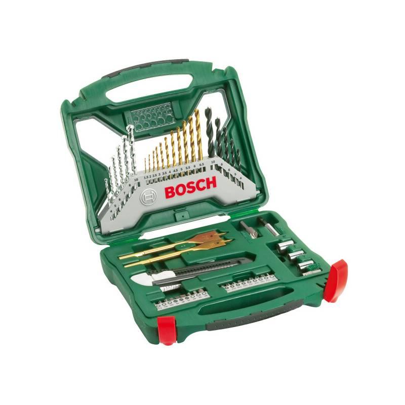 Sada náradia Bosch 50dílná X-Line titan čierne/strieborné/zlaté/Titanium