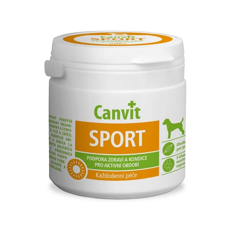 Tablety Canvit Sport pro psy 230g new