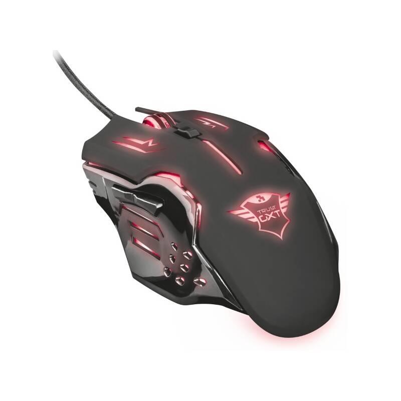 Myš Trust GXT 108 Rava (22090) černá