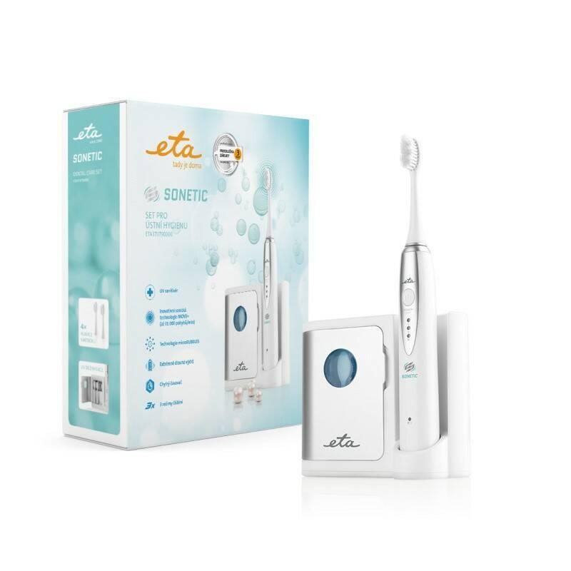 Zubní kartáček ETA Sonetic 1707 90000 bílý