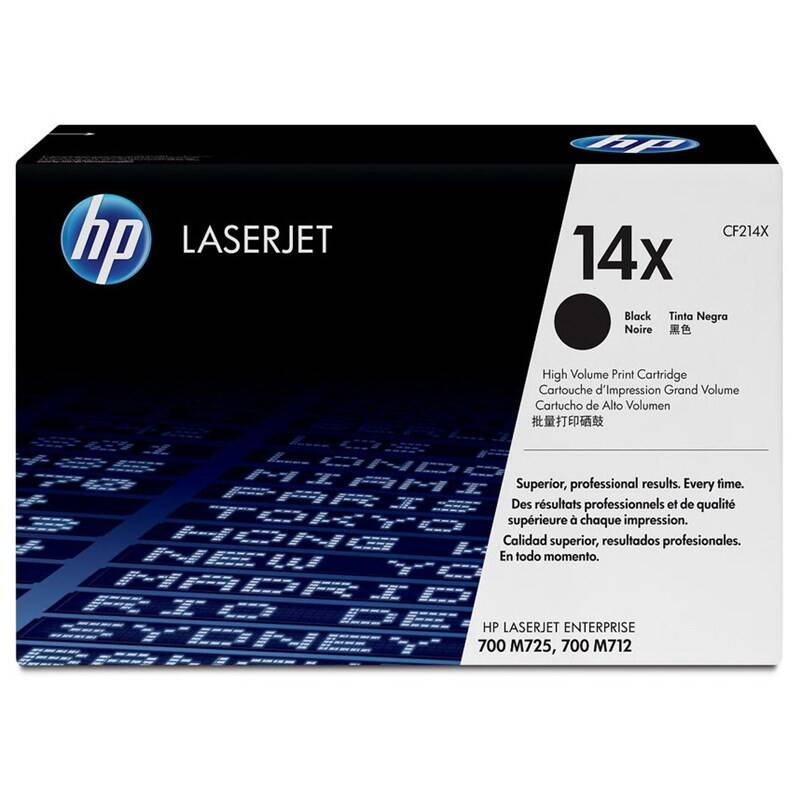 Toner HP 14X, 17500 stran (CF214X) čierny + Doprava zadarmo