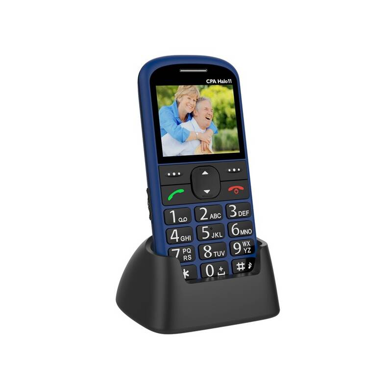 Mobilní telefon CPA Halo 11 Senior (TELMY1011BL) modrý