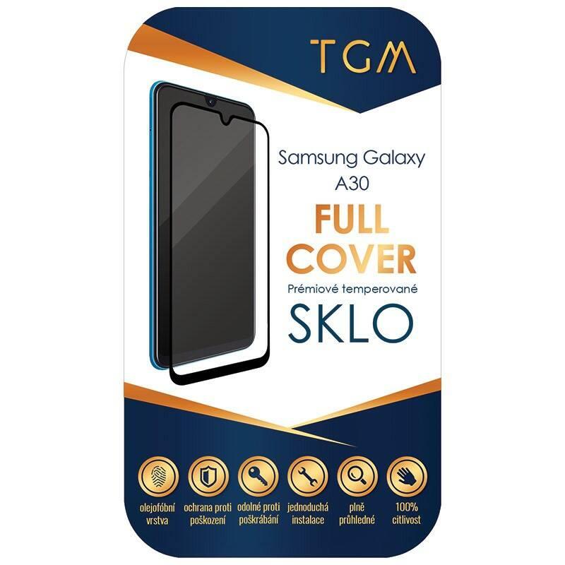 Ochranné sklo TGM Full Cover pro Samsung Galaxy A30 (TGMSGA30BK) čierne