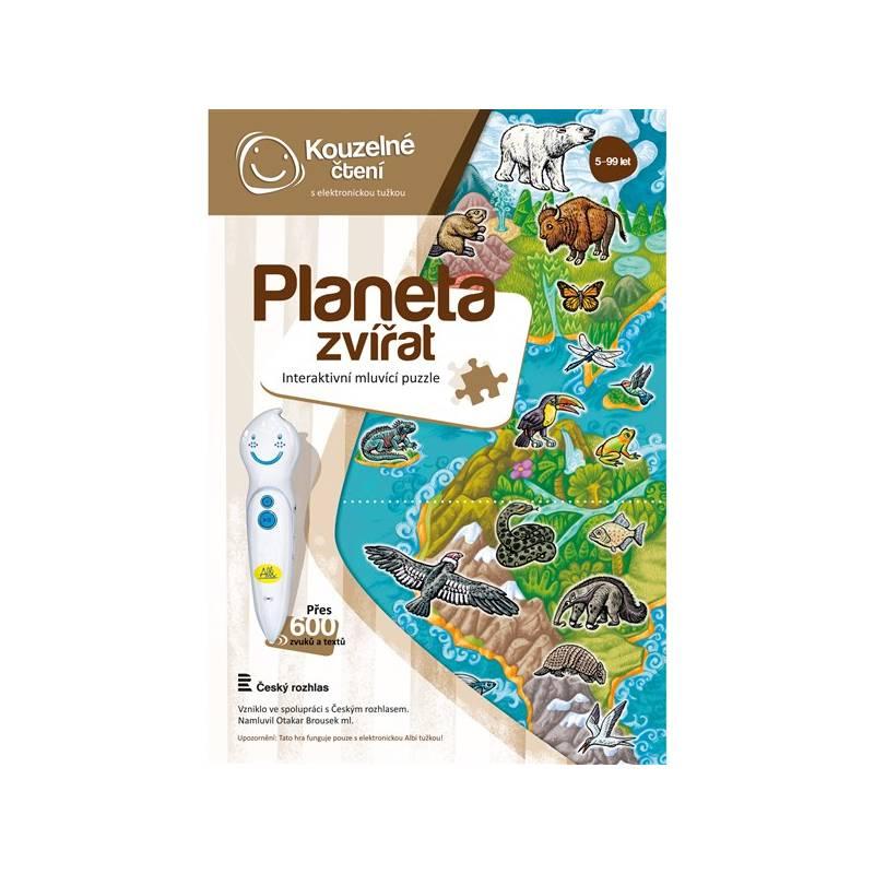 Kúzelné čítanie Albi Puzzle Planeta zvířat