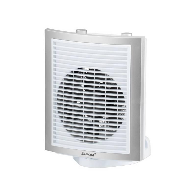 Teplovzdušný ventilátor Steba WM 2 strieborný/biely