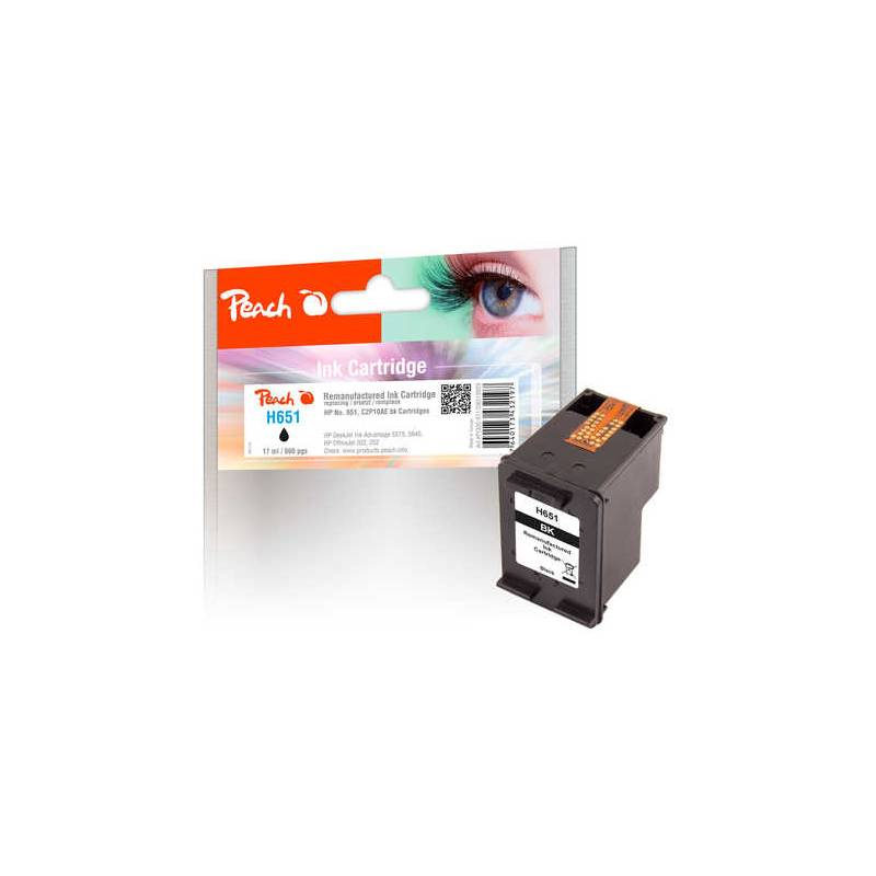 Cartridge, toner Peach HP 651, (319929) čierna
