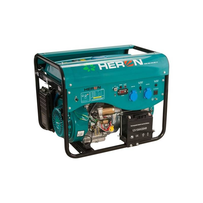 Elektrocentrála HERON LPGG 50 + Doprava zadarmo