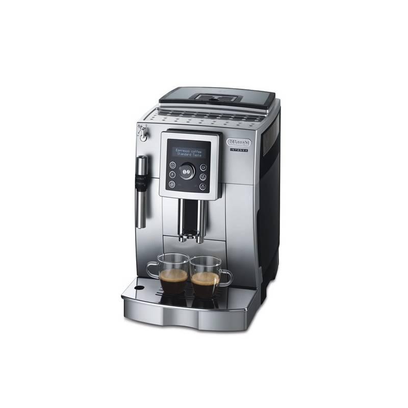 Espresso DeLonghi Intensa ECAM23.420SB čierne/strieborné + Doprava zadarmo