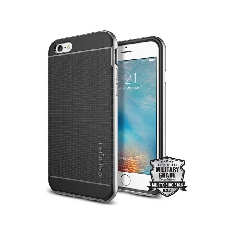 Kryt na mobil Spigen Neo Hybrid pro Apple iPhone 6/6s (SGP11620) strieborný + Doprava zadarmo