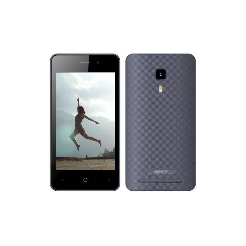 Mobilný telefón Aligator S4080 Dual SIM (AS4080GY) sivý Software F-Secure SAFE, 3 zařízení / 6 měsíců (zdarma)