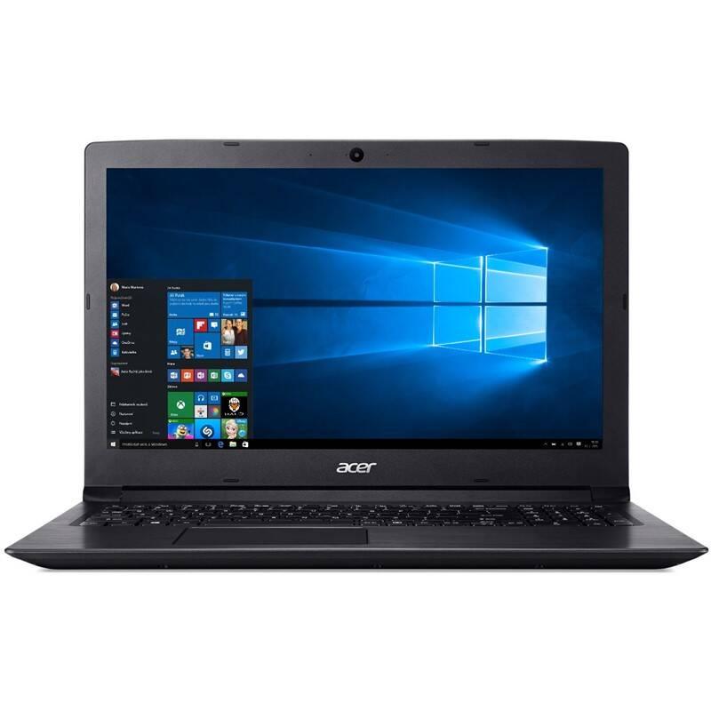 Notebook Acer Aspire 3 (A315-21-42WW) - Obsidian Black (NX.GNVEC.022)