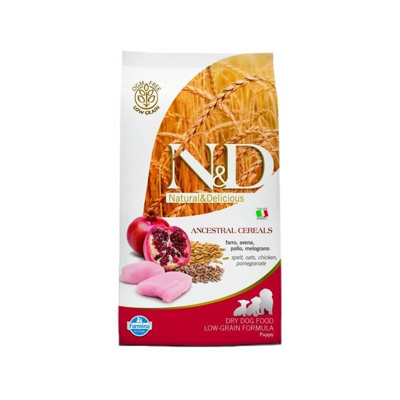 Granuly N&D Low Grain DOG Puppy Chicken & Pomegranate 12 kg + Doprava zadarmo
