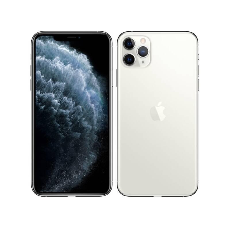 Mobilní telefon Apple iPhone 11 Pro Max 512 GB - Silver (MWHP2CN/A)