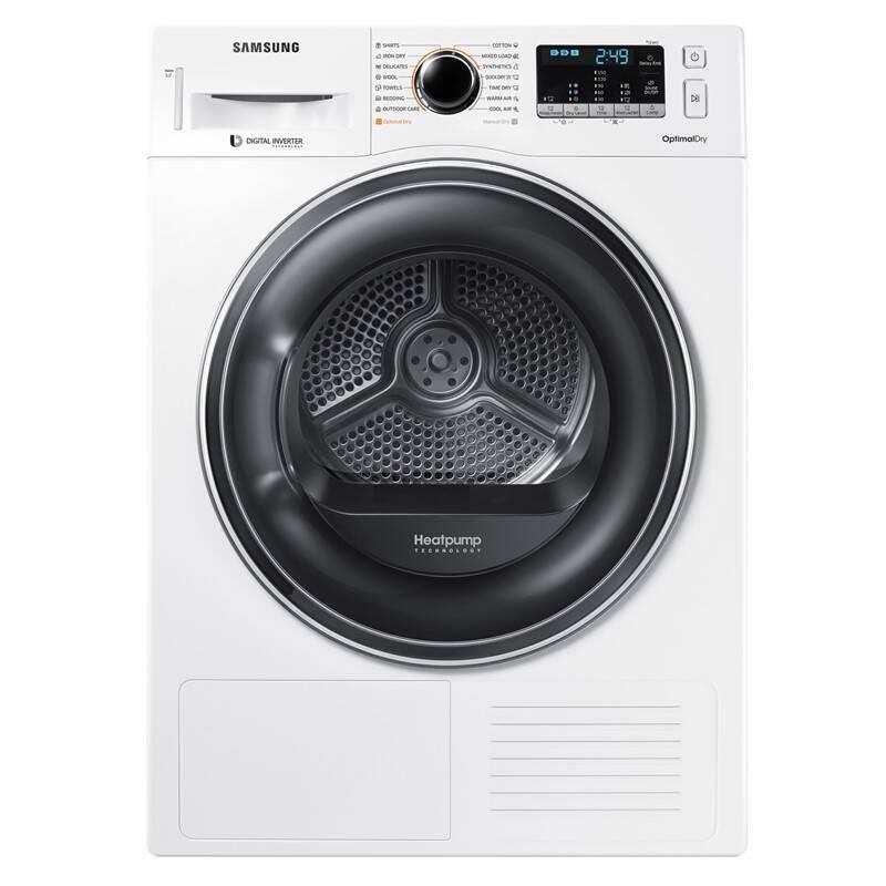 Sušička prádla Samsung DV80M52102W/LE bílá + Samsung 10 let záruka na invertorový motor