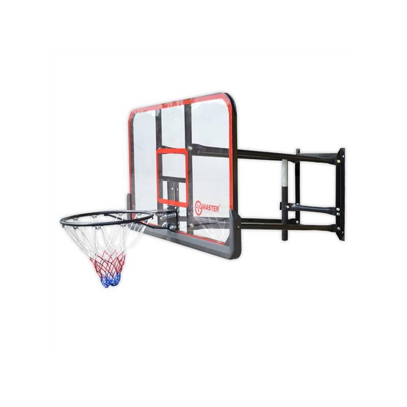 Basketbalová doska Master 127 x 71 cm s konstrukcí