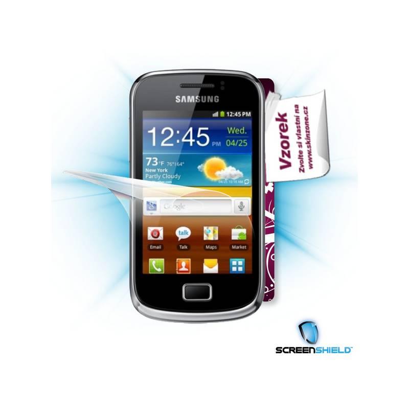 2bf86aea8 Ochranná fólia Screenshield na displej + skin voucher pro Samsung Galaxy  mini II (S6500) (SAM-S6500-ST)