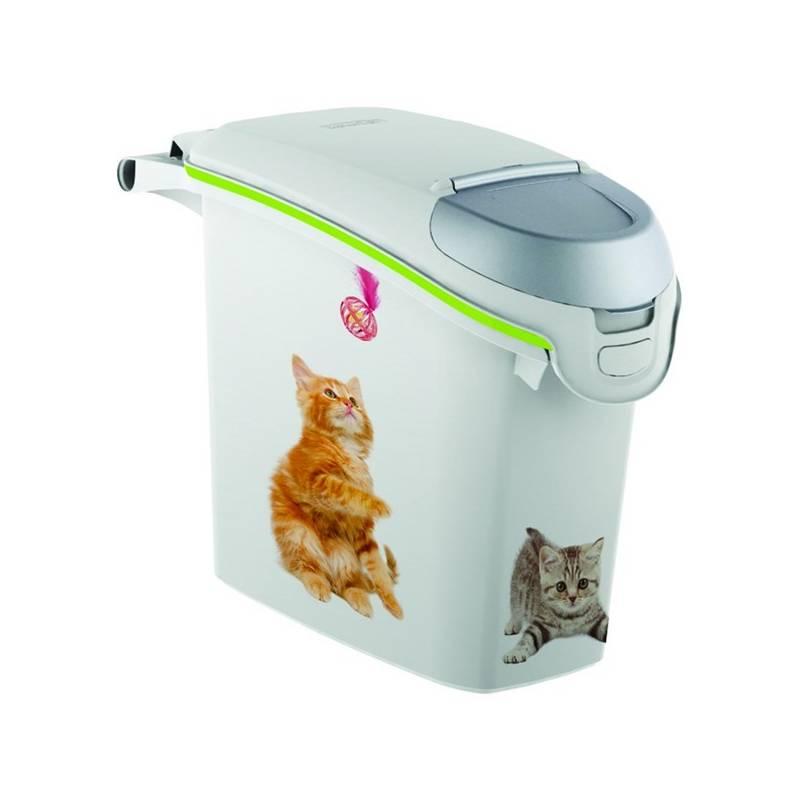 Box na krmivo Curver kontajner na 6 kg suchého krmiva pre mačky