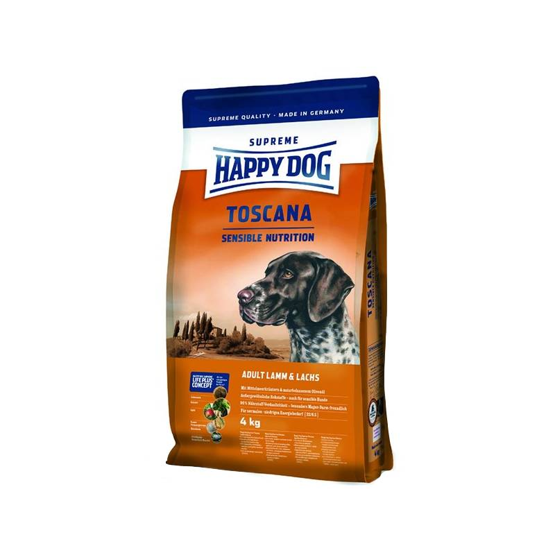 granule happy dog toscana 12 5 kg. Black Bedroom Furniture Sets. Home Design Ideas
