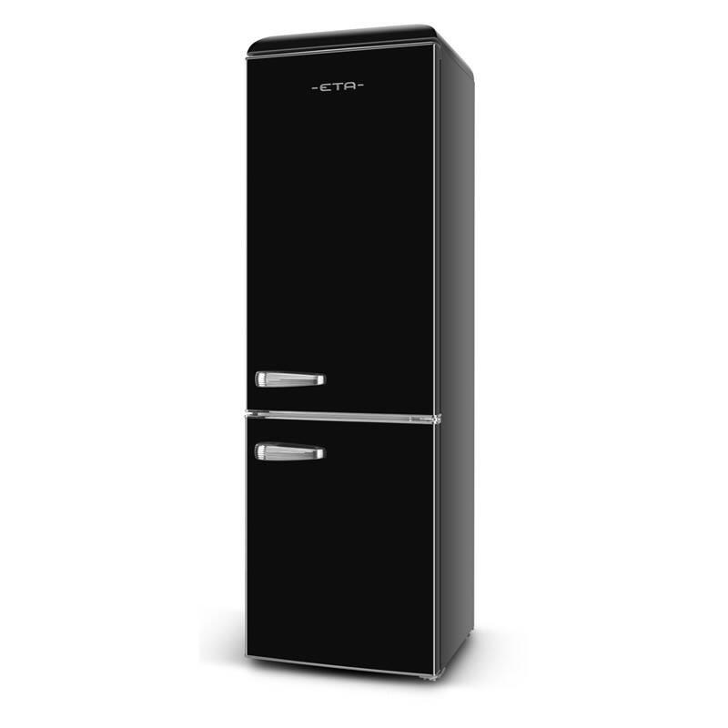 Kombinácia chladničky s mrazničkou ETA Storio 2532 90020E čierna + Doprava zadarmo