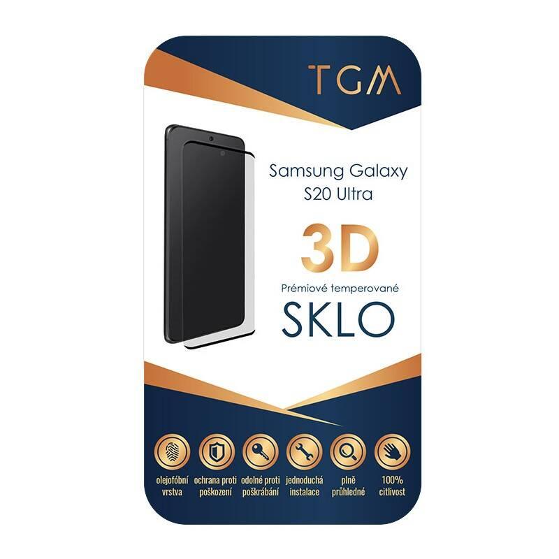 Ochranné sklo TGM 3D pro Samsung Galaxy S20 Ultra (TGMSAMS20U)