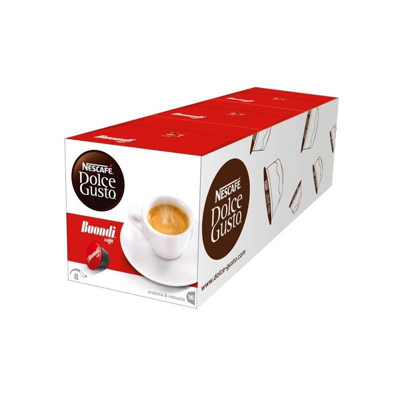 Kapsule pre espressa Nescafé Dolce Gusto Espresso Buondi 3 balení