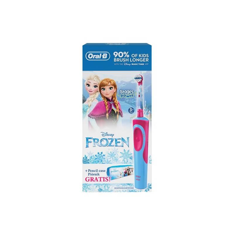 Zubná kefka Oral-B Vitality Frozen + penál