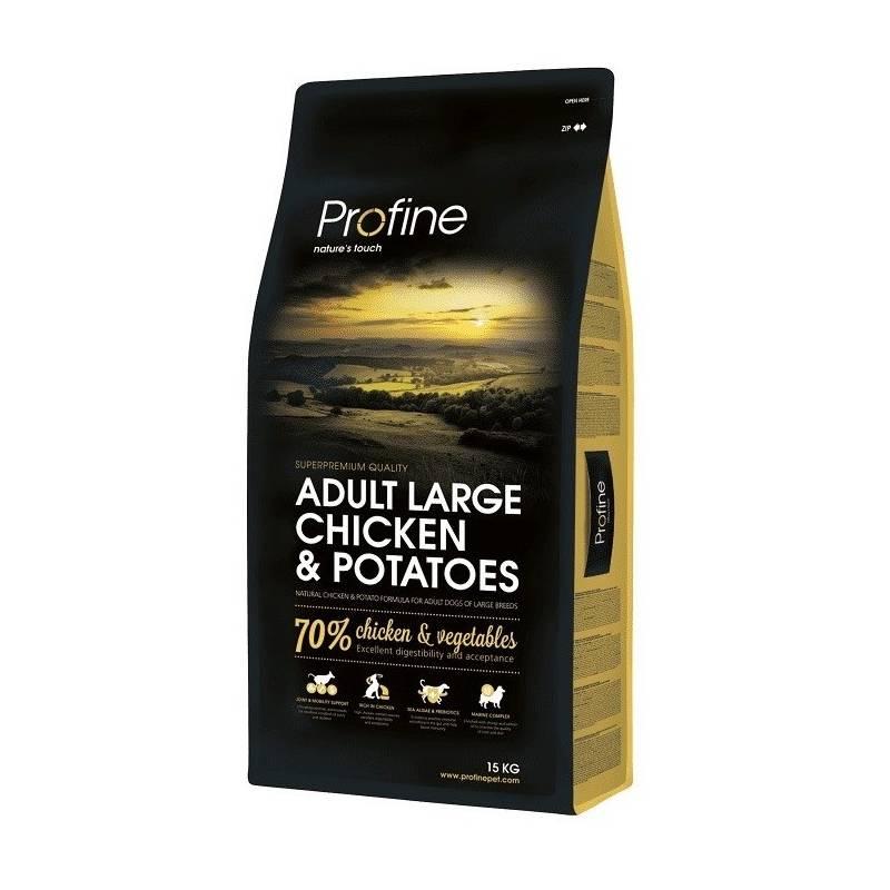 Granule PROFINE Adult Large Breed Chicken & Potatoes 15kg
