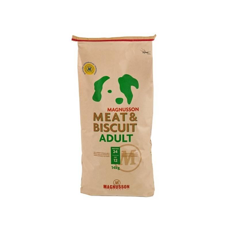 Granuly Magnusson Meat & Biscuit Adult 14 kg + Doprava zadarmo