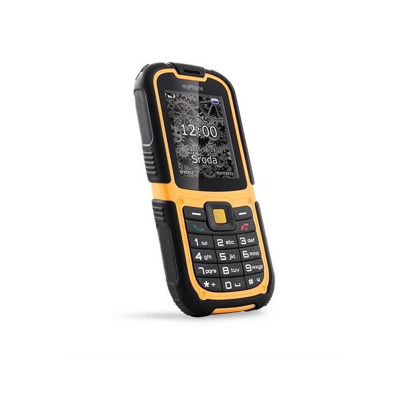 Mobilný telefón myPhone HAMMER 2 Dual SIM (TELMYHHA2OR) čierny/oranžový Software F-Secure SAFE, 3 zařízení / 6 měsíců (zdarma)