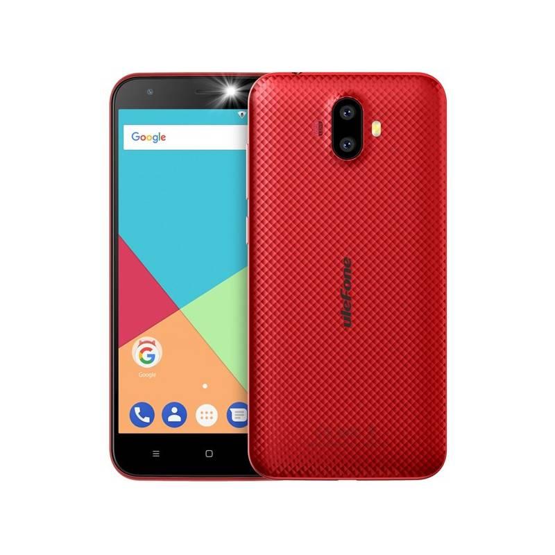 Mobilný telefón UleFone S7 Dual SIM (6937748731559) červený